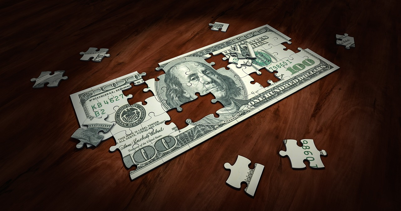 dollar jako puzzle