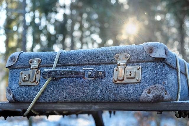 kufr se zámky