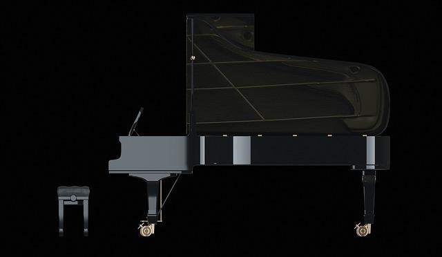 piano křídlo