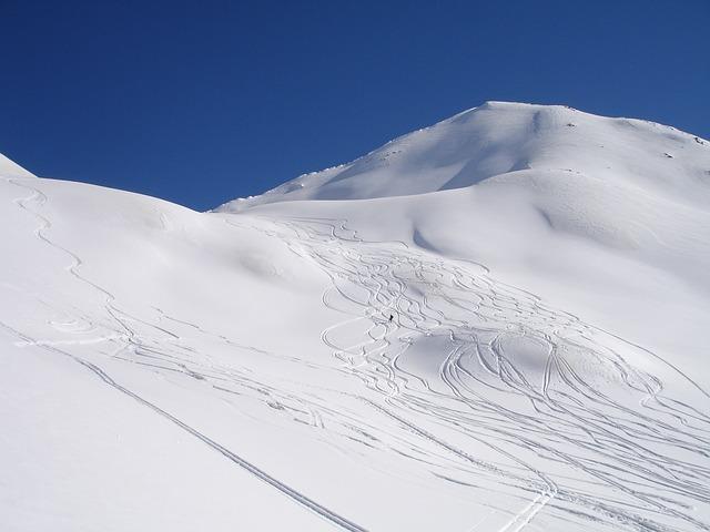 vysokohorské lyžování