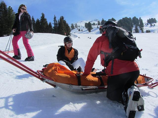 záchranáři na horách