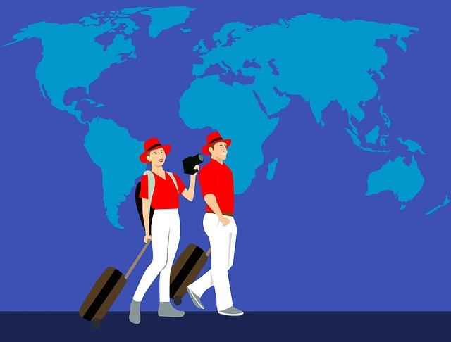 cestování po světě