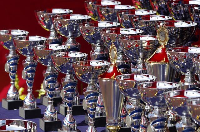 vystavené trofeje