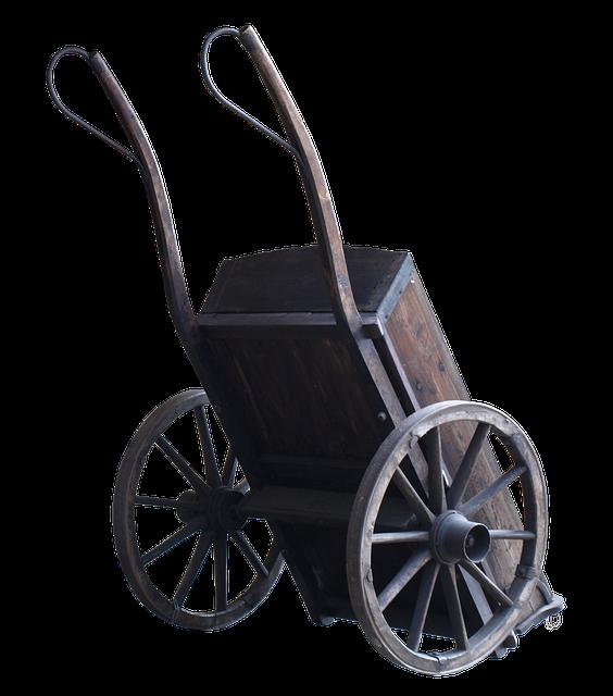 historický vozík